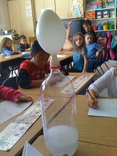 Good ideas for teaching solids,liquids,and gases.