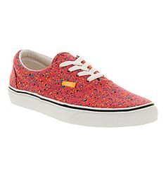 29f0119eb9eb Vans ERA OVERSPRAY ROUGE RED Shoes - Vans Trainers - Office Shoes