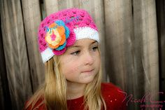 Crocheted Beanie Hat The Nicole