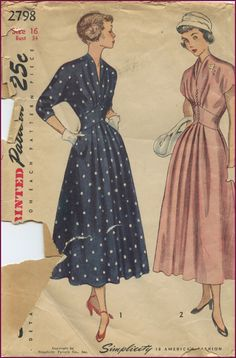 Simplicity #2798----I had a dress like this pattern!!!.....--loved it then & would LOVE it NOW!!!...