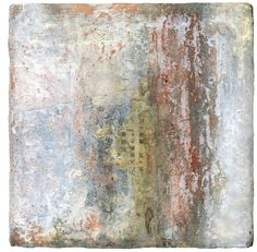 """Saatchi Online Artist: Stephanie Dalton; Encaustic Wax, 2010, Painting """"Ancient Modern""""........I love this, it is exactly right"""