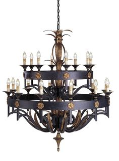 Camelot Chandelier   Currey & Company