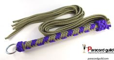 Paracord flogger.