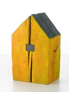"""Udo Mathee - """"Haus"""", Holz"""