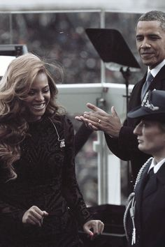 #Beyonce at #Obama Inauguration #queenbey