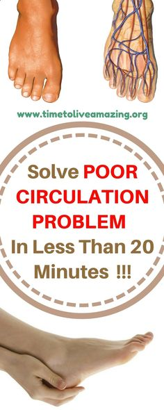 Do You Suffer From Poor Circulation? Here's How To Solve The Problem - Healthy Women Health Tips For Women, Health Advice, Health Care, Women Health, Poor Circulation, Improve Blood Circulation, Healthy Women, Healthy Tips, Healthy Drinks