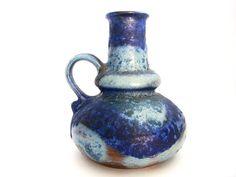 Vintage West German Pottery Ruscha 317 fat lava by VintageBreda, €30.00