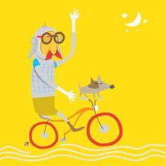 달빛여행...자전거 traveling on the moon #moon #moonwalkers #travel #dog🐶 #friends #bicycle