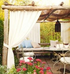 THIS IS THE TYPE OF PERGOLA THAT WOULD GO GREAT ON MY ROOFTOP