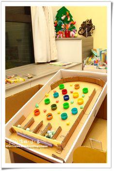 隨手素材~吸管和瓶蓋就可以!紙箱彈珠台DIY - 動手DIY - 親子就醬玩 Fun Games For Kids, Diy For Kids, Activities For Kids, Crafts For Kids, Cute Crafts, Crafts To Make, Preschool Games, Diy Games, Holiday Activities
