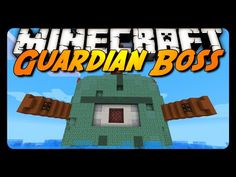 Minecraft: EPIC GUARDIAN BOSS FIGHT! (Downloadable Mini-Game) - YouTube