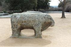 Los Toros de Guisando, El Tiemblo, Provincia de Avila (lugar de la firma de Paz entre Isabel La Católica y su hermano Enrique). Spain.