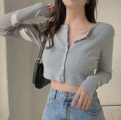 Korean Girl Fashion, Ulzzang Fashion, Korean Street Fashion, Kpop Fashion Outfits, Girly Outfits, Cute Casual Outfits, Look Fashion, Pretty Outfits, Korean Fashion Styles
