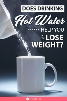Do you badly want to lose weight but feel lazy or lack the time to hit the gym? Have you ever tried hot water for weight loss? Weight Loss Secrets, Weight Loss Plans, Easy Weight Loss, Losing Weight, Treating Sinus Infection, Drinking Hot Water, Compulsive Overeating, Weight Loss Motivation Quotes, Weight Loss Water