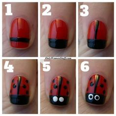 Easy DIY Nail Designs for Kids with Step by Step Tutorial Picture