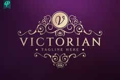 Ad: Victorian - Vintage Flourishes Logo by PenPal on An Premium Logo Template have crafted with fine attention to details. Suitable for any kind of business and personal branding which requires Premium Logo, Graphic Design Software, Fashion Wallpaper, Victorian Design, Creative Artwork, Fashion Quotes, Business Logo, Personal Branding, Logo Templates