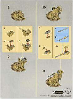 lego mini star destroyer 30056 instructions