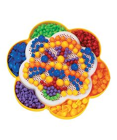 Look at this #zulilyfind! Fantacolor Daisy Mosaic Play Set #zulilyfinds