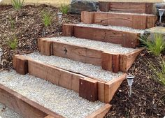 stone steps construction details - Google Search