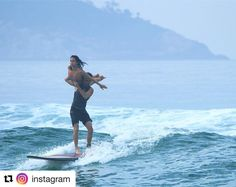 #Repost @instagram  Sharing your surfboard with another person is magical explains Gabriella Cardoso (@gabiduda.surfduplo). You have to be in complete harmony. She and her boyfriend designer Eduardo Lima tandem surf  a Hawaiian sport where two surfers balance on the same board while performing tricks and stunts. We need to have perfect movements to help one another Gabriella says. Its a really fun sport that brings us even closer together. The Rio de Janeiro couple have attracted a following…