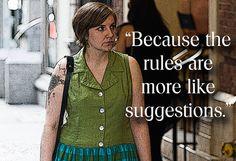 20 Inspiring Pieces Of Advice From Lena Dunham