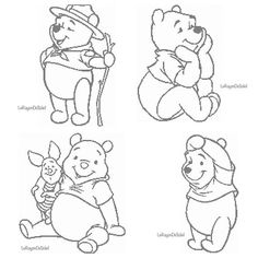 Cross stitch pattern Winnie the Pooh and Piglet Disney