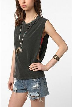 UrbanOutfitters.com > Truly Madly Deeply Show Some Muscle Tank