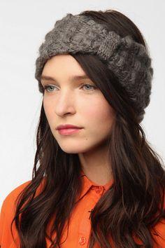 Fuzzy Bow Ear Warmer  #UrbanOutfitters