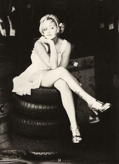 Drew Barrymore    shot by Ellen von Unwerth, 1994