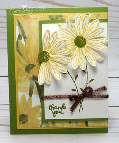 Stampin' Up! Daisy Delight Bundle-Cardiology by Jari