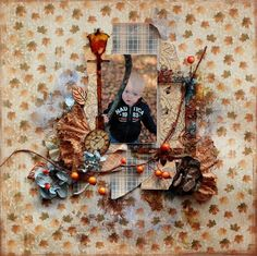 eleele-handmade: Fall is everywhere - Maja Design and Clear Scraps