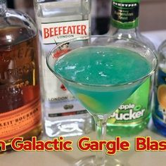 Make a Pan Galactic Gargle Blaster (from The Hitchhiker's Guide to the Galaxy)