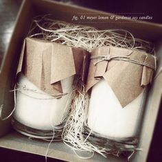 Candle Packaging.                                                                                                                                                      More