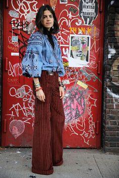 London Fashion Weeks, New York Fashion, Milan Fashion, Leandra Medine, Ethnic Fashion, Look Fashion, Autumn Fashion, Fashion Outfits, Womens Fashion