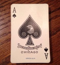 Vintage-Standard-Playing-Cards-52-52-Advertising-Chicago-US-Bicycle-Antique