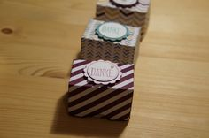 Mini-Verpackung mit Material von Stampin´ Up.