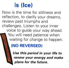 Is ( Ice )