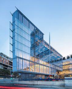 Renzo Piano, Architecture Portfolio, Facade Architecture, Architecture Diagrams, Paris Bars, Site Plans, Facade Design, Window Design, Urban Planning