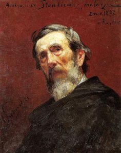 Henryk Siemiradzki - Portrait of Aleksander Stankiewicz