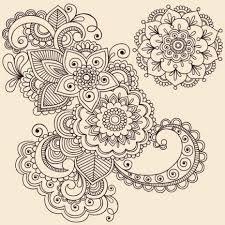 Resultado de imagen para mandala flower PARA COLOREAR