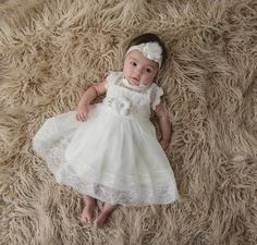 Items similar to First Birthday Dress Baby Girl First Birthday Outfit Girl Boho Birthday Girl Outfit Pink and Gold Birthday Dress Baby Girl Clothes on Etsy Lace Christening Gowns, Christening Outfit, Baptism Dress, Baby Christening, Girls Lace Dress, Baby Girl Dresses, Baby Dress, Flower Girl Dresses, Dress Girl