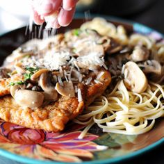 Pasta with Whiskey, Wine, and Mushrooms | The Pioneer Woman