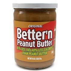 Skinny State of Mind: Better'n Peanut Butter