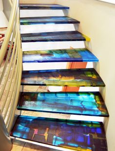 Custom Stairs by Walter Gordinier Studios Llc | CustomMade.com