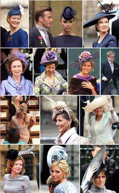 Fashion of the Royal Wedding.. The purple/grey hues!