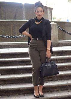 african american women business casual - Google Search https://www.facebook.com/shorthaircutstyles/posts/1840263649597407