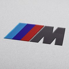 BMW M Power logo embroidery design for instant download.  #EmbroideryDesign, #EmbroideryDownload, #EmbroideryMachine, #Embroiderylogos, #EmbroideryCarLogo, #EmbroideryMotor, #EmbroideryAutomobile