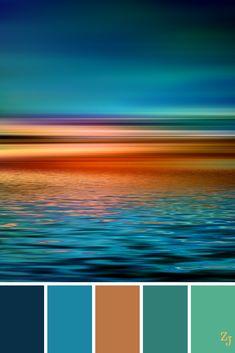 19 New ideas for craft room colors palette colour schemes Color Schemes Colour Palettes, Colour Pallete, Color Combos, Rust Color Schemes, Beach Color Palettes, Paint Schemes, Sunset Color Palette, Sunset Colors, Pantone