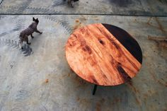 Michael Robbins Natural Wood Furniture. I love this table.. and this photograph. :)