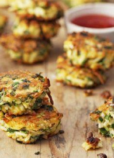 Low FODMAP & Gluten free Recipe - Herb & spice tofu fritters…